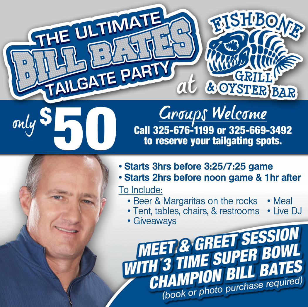 Tickets for Draftpot presents the Ultimate Bill Bates Tailgate in Arlington from StubHub Box Office