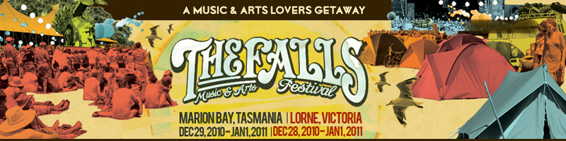 Tickets for The Falls Music & Arts Festival: Marion Bay in Marion Bay from GreenTix
