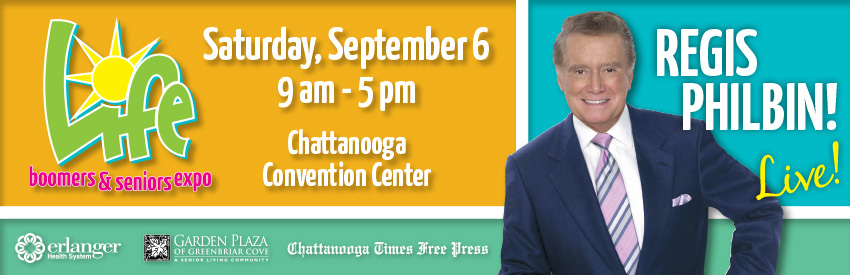 Tickets for Life, An Expo for Boomers & Seniors in Chattanooga from ShowClix