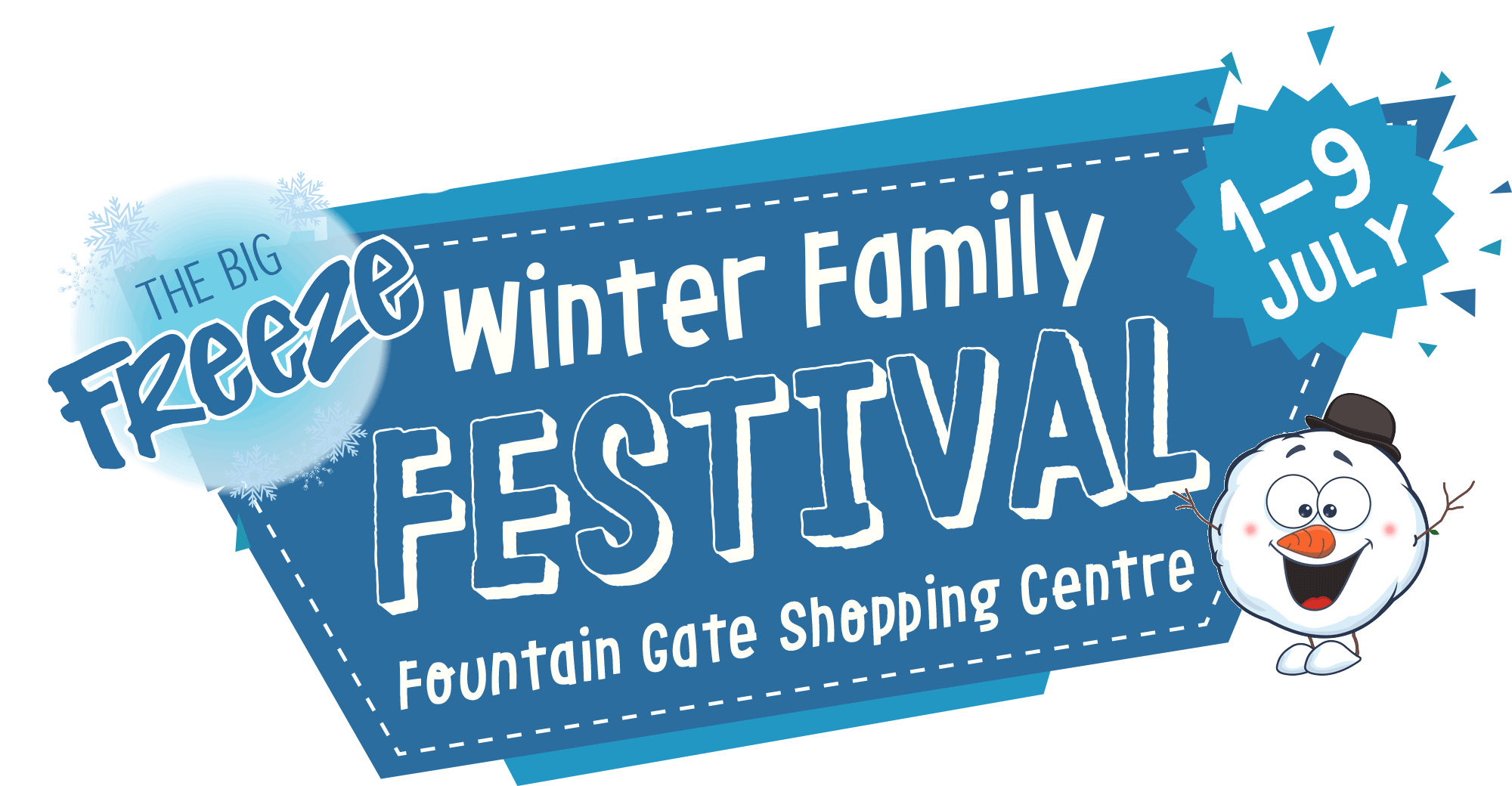 Tickets for The Big Freeze Winter Family Festival in Fountain Gate from Ticketbooth