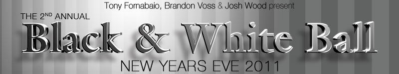 Tickets for The Black & White Ball NYE 2011 in New York from ShowClix