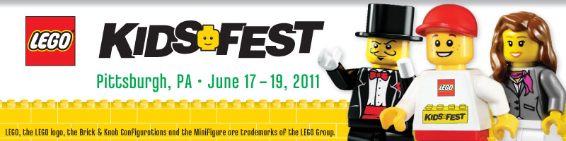 Tickets for LEGO KidsFest Pittsburgh in Pittsburgh from LIFE Marketing and Events