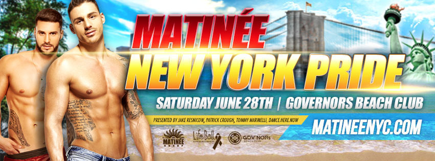 Tickets for MATINEE New York Pride 2013 in New York from ShowClix