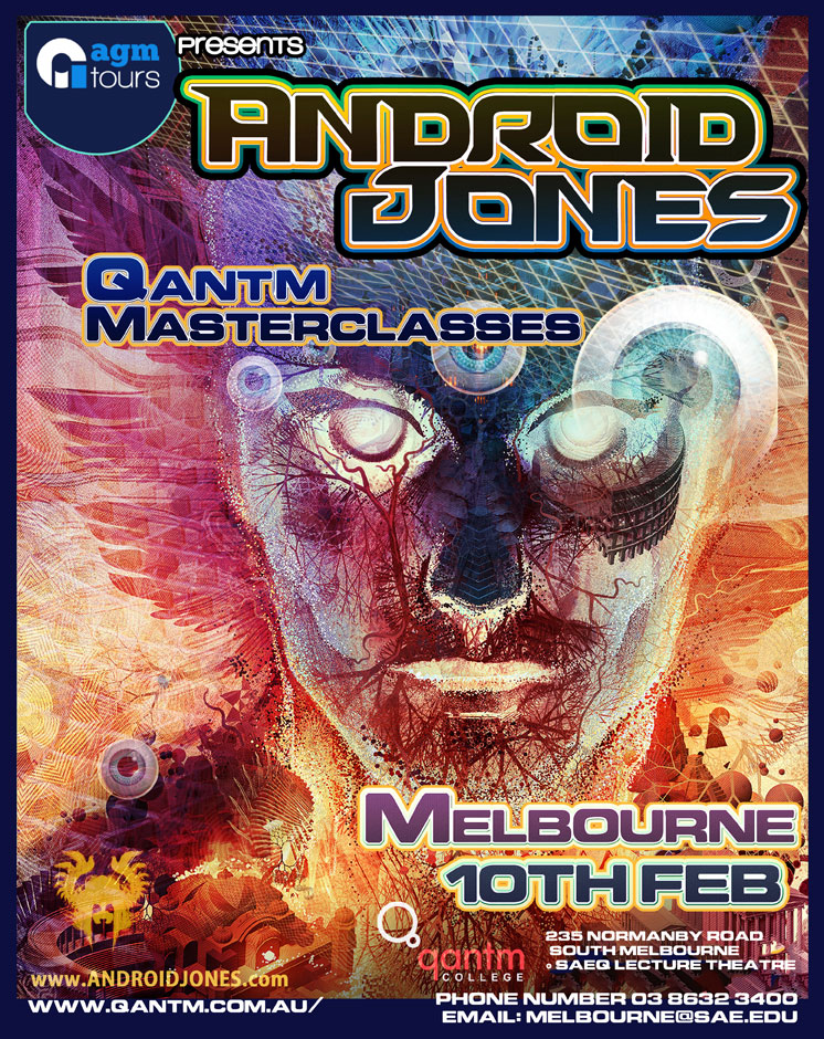 Tickets for Android Jones Qantm Melbourne in South Melbourne VIC from GreenTix
