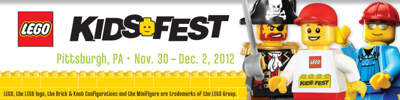 Tickets for LEGO KidsFest Pittsburgh 2012 in Pittsburgh from LIFE Marketing and Events