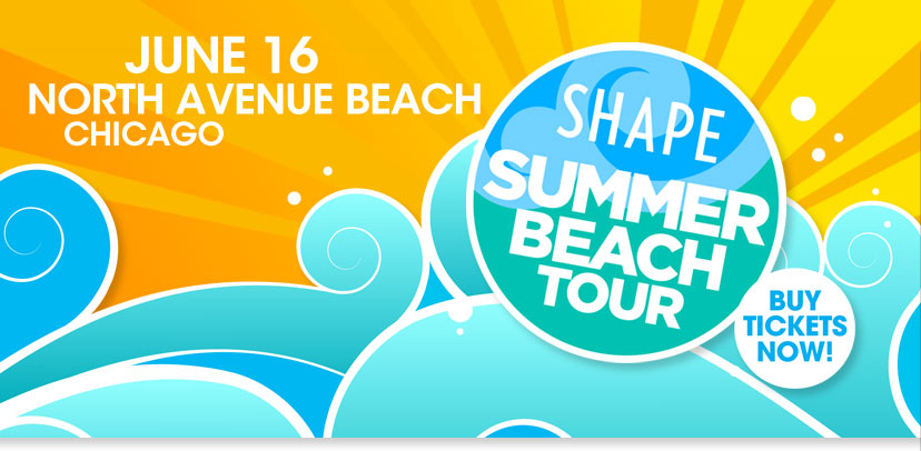 Tickets for SHAPE Summer Beach Tour - Chicago in Chicago from ShowClix