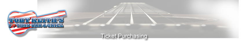 Tickets for Bo Phillips in Dallas from Toby Keith's I Love This Bar and Grill