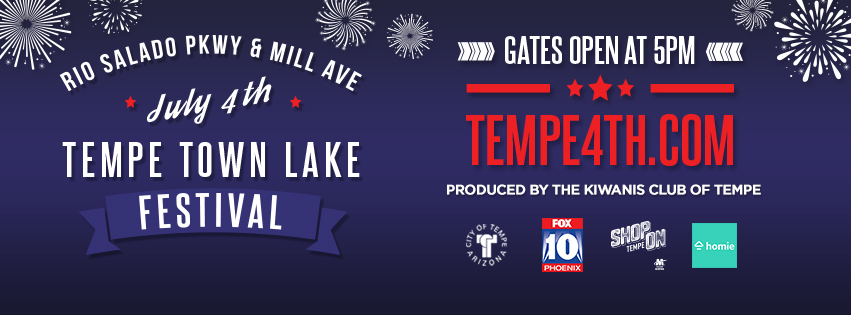 Tickets for July 4th Tempe Town Lake Festival in Tempe from SLE TIX