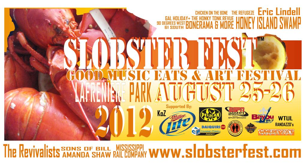 Tickets for Slobster Fest 2012 in Metairie from ShowClix