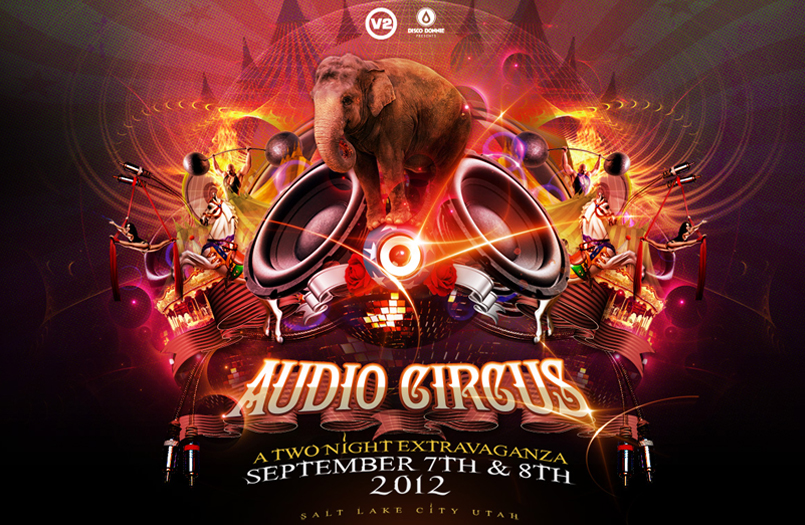 Tickets for Audio Circus in Magna from PartyTix