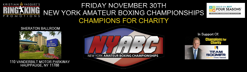 Tickets for NYABC - Champions For Charity in Hauppauge from ShowClix