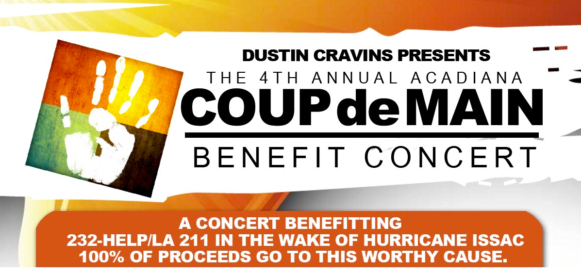 Tickets for Acadiana Coup de Main Concert in Opelousas from ShowClix