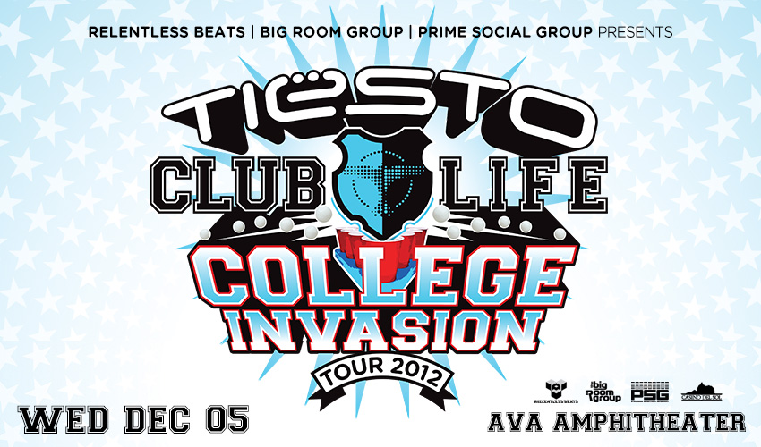 Tickets for Tiësto College Invasion - Tucson in Tucson from ShowClix