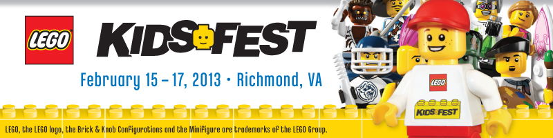 Tickets for LEGO KidsFest Virginia in Richmond from ShowClix