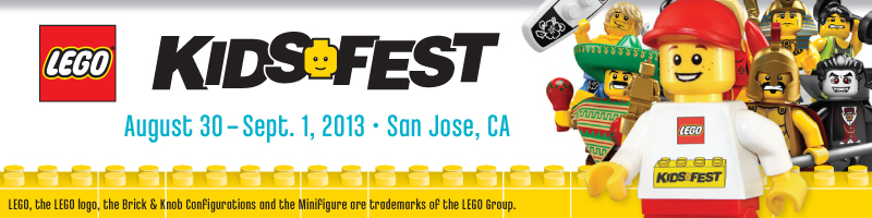 Tickets for LEGO KidsFest Bay Area in San Jose from ShowClix