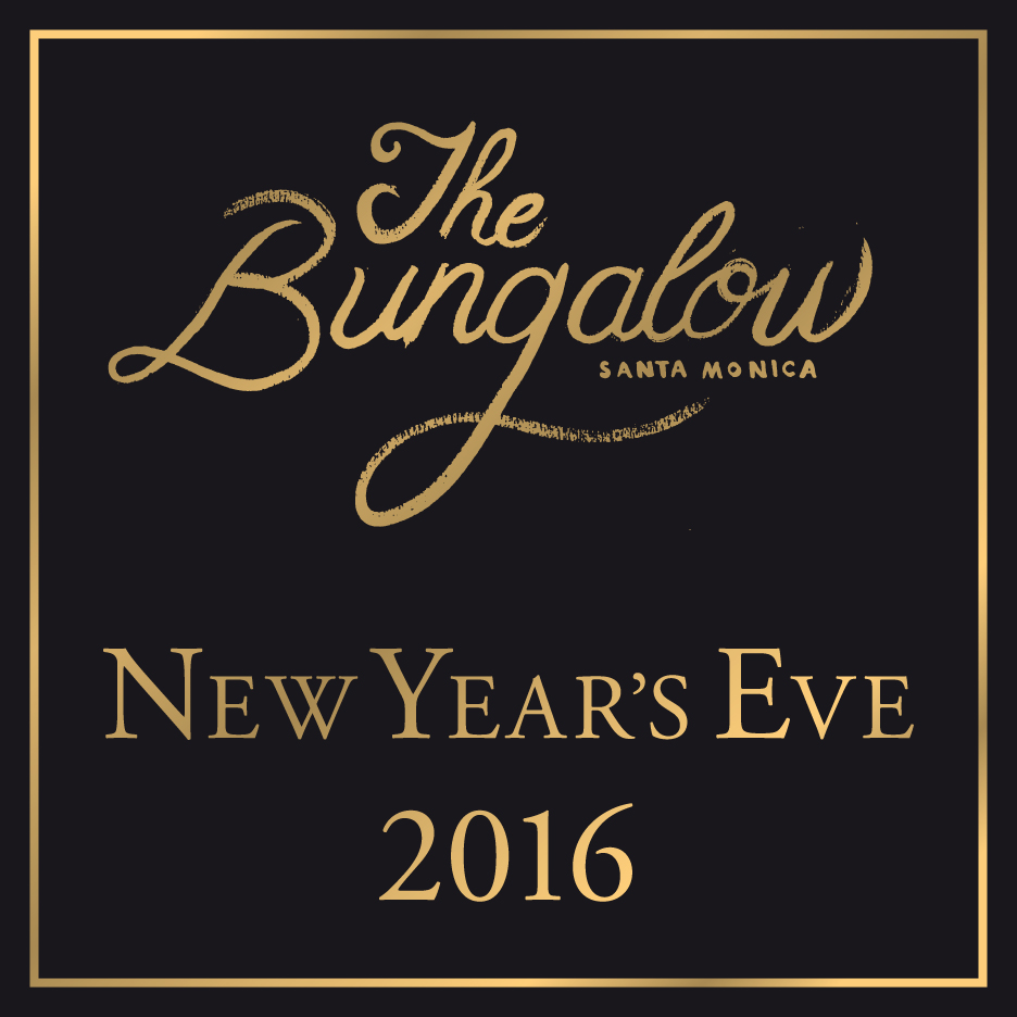 Tickets for The Bungalow's New Year's Eve Party in Santa Monica from ShowClix