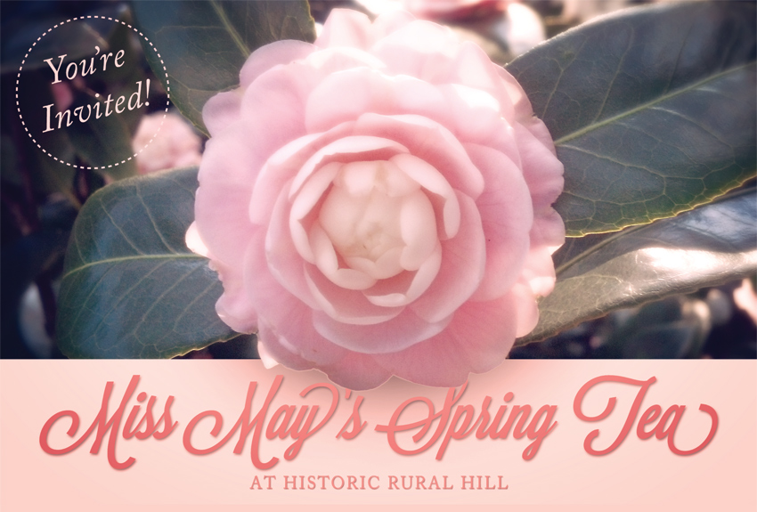 Tickets for Miss May's Spring Tea in Huntersville from S