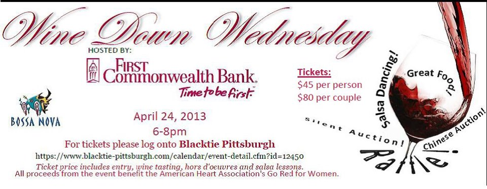 Tickets for Wine Down Wednesday in Pittsburgh from ShowClix