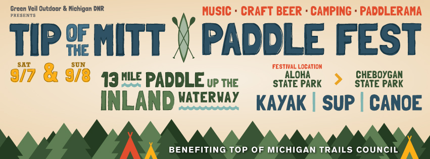 Tickets for Tip of the Mitt Paddle Fest in Cheboygan from ShowClix