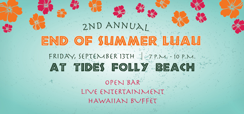 Tickets for End of Summer Luau 2013 in Folly Beach from ShowClix