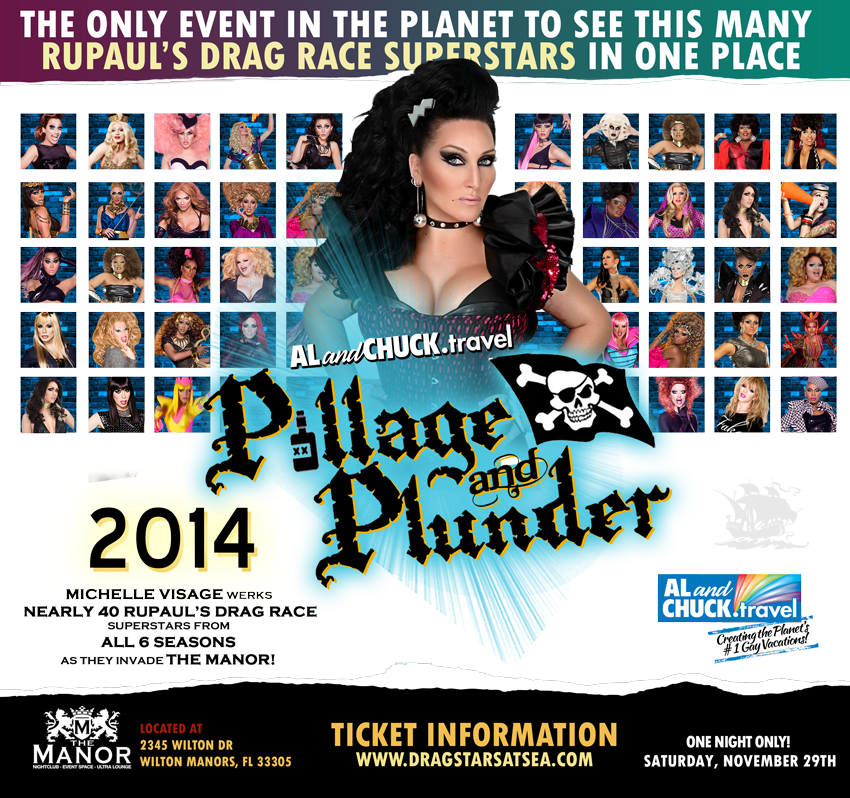 Tickets for Pillage & Plunder: Drag Race invades Wilton Manors in Wilton Manors from ShowClix