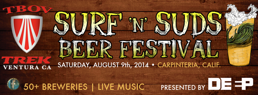 Tickets for Surf 'n' Suds Beer Festival 2014 in Carpinteria from ShowClix