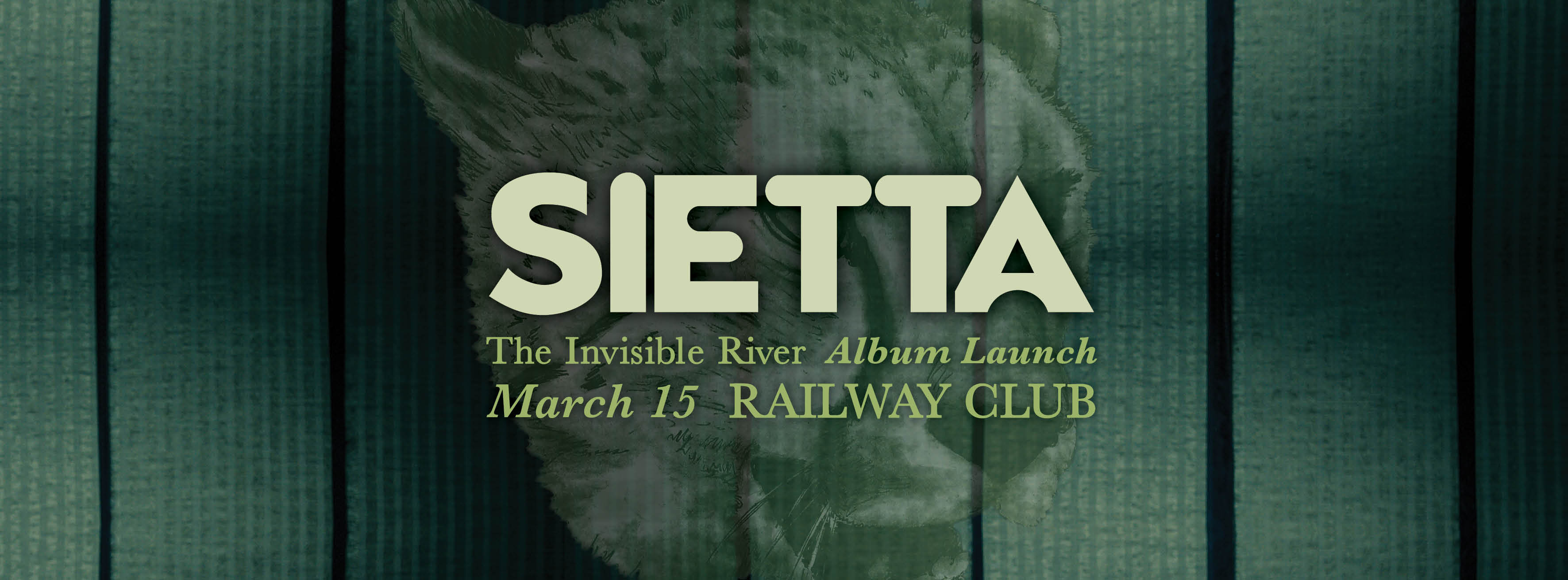 Tickets for SIETTA - 'The Invisible River' Album Launch in Parap from Ticketbooth