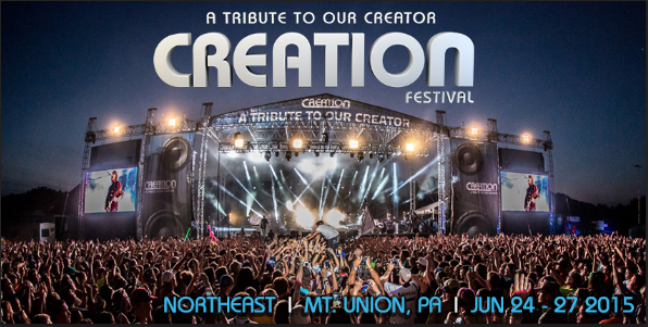 Tickets for Creation Festival - Northeast Staff in Mt Union from Creation Festivals LLC and Sonshine Festivals