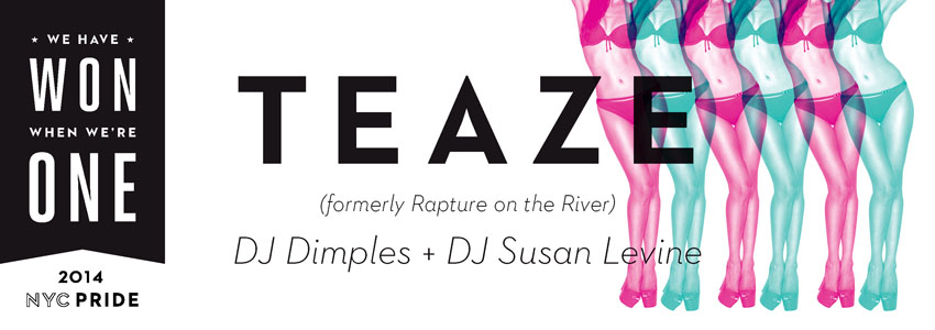 Tickets for Teaze: 11 in New York from InterPride