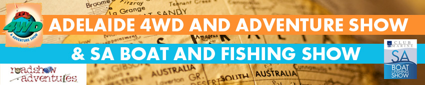 Tickets for sa boat fishing show and 4wd adventure for Sa fishing coupon