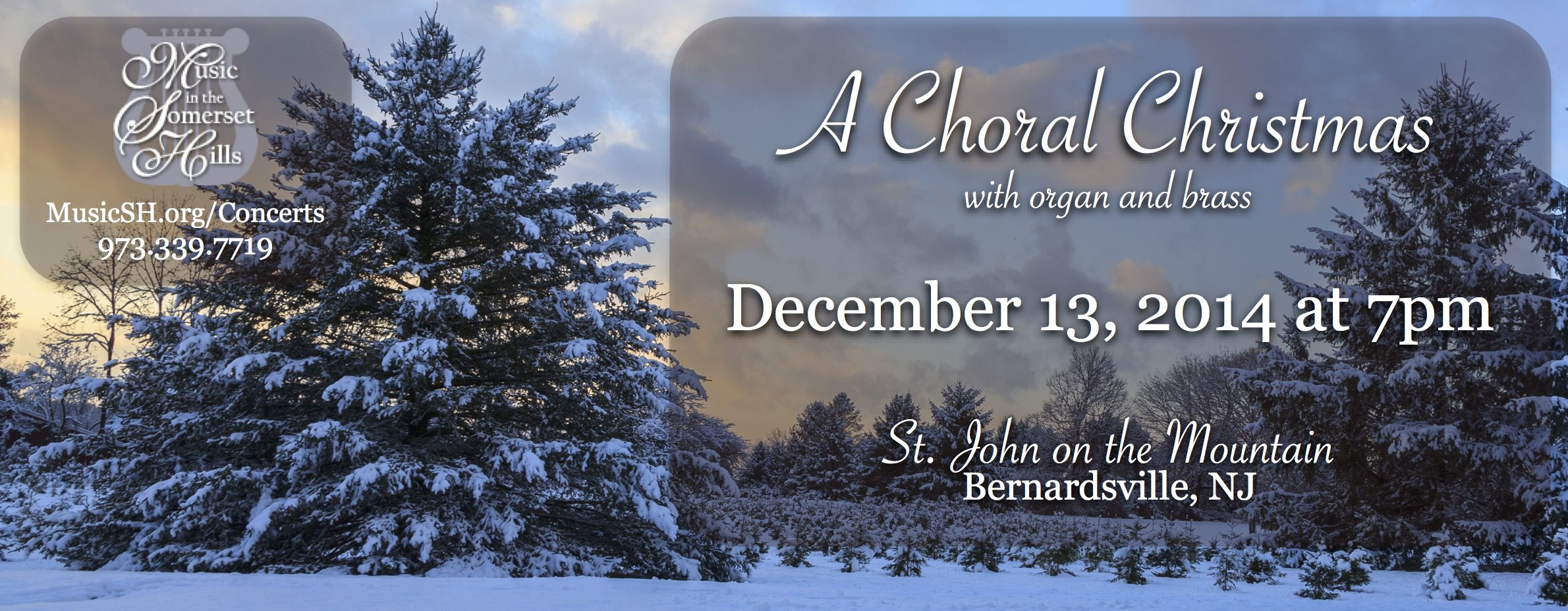 Tickets for A Choral Christmas with Organ and Brass in Bernardsville from ShowClix