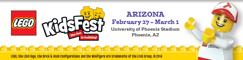 Tickets for LEGO KidsFest Arizona 2015 in Glendale from ShowClix