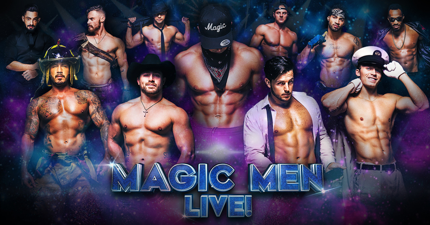 Tickets for MAGIC MEN® LIVE! MEET & GREET in Grand Prairie from ShowClix