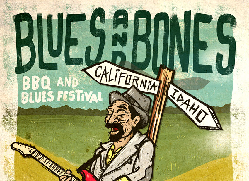 "Tickets for Blues and Bones Festival ""California"" in Angels Camp from ShowClix"