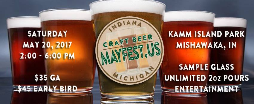 Tickets for indiana michigan craft beer mayfest in granger for Michigan craft beer festival