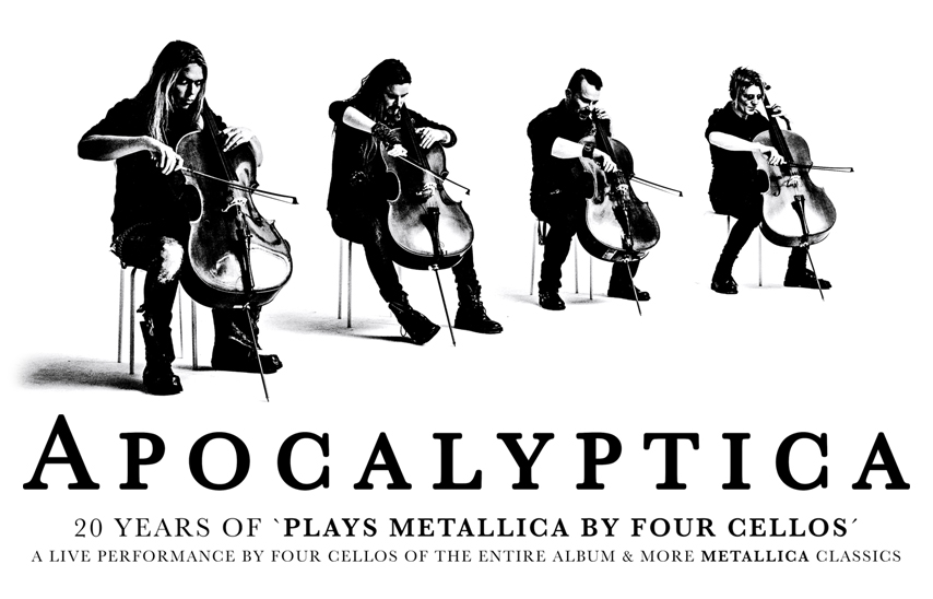 Tickets for Apocalyptica VIP Meet & Greet Package: Carnegie of Homestead Music Hall in Munhall from One Live Media