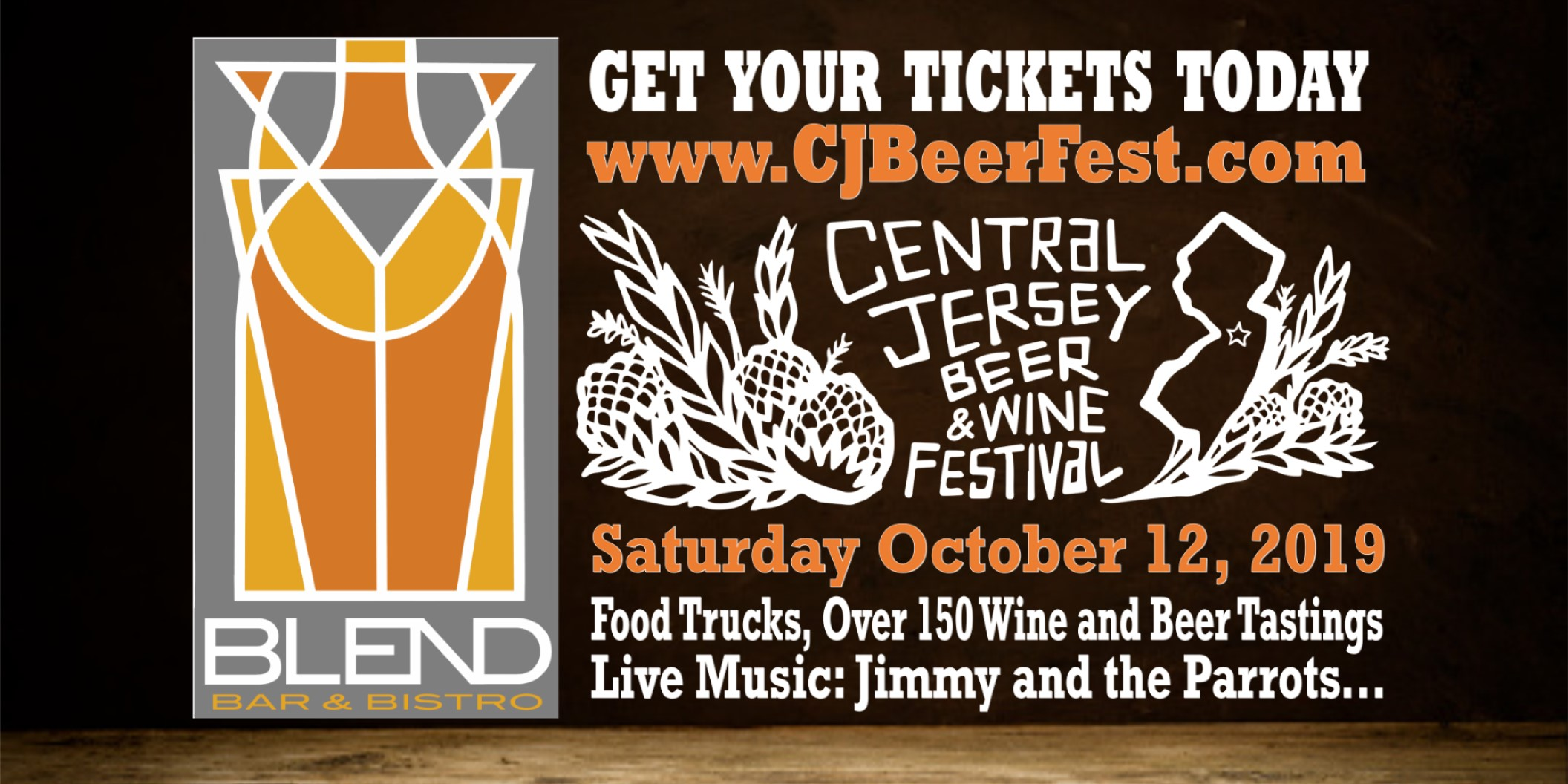 Tickets for Central Jersey Beer Fest #CJBeerFest 2018 in West Windsor Township from BeerFests.com