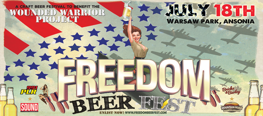 Tickets for Freedom Fest Craft Beer Festival in Ansonia from BeerFests.com