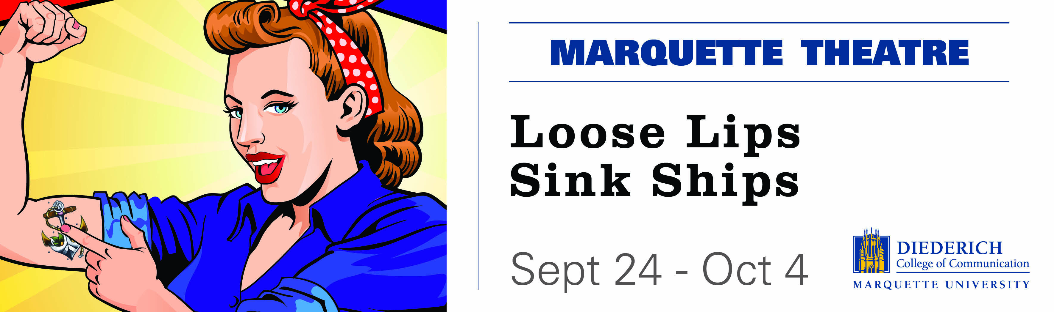 Tickets for Loose Lips Sink Ships in Milwaukee from ShowClix
