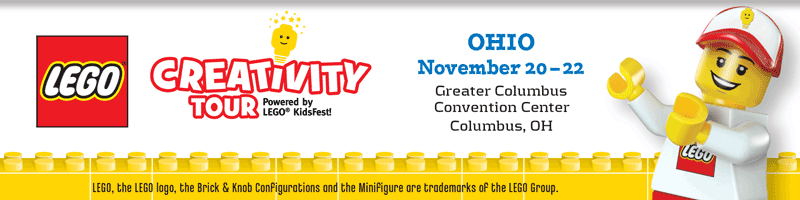 Tickets for LEGO Creativity Tour Ohio in Columbus from ShowClix