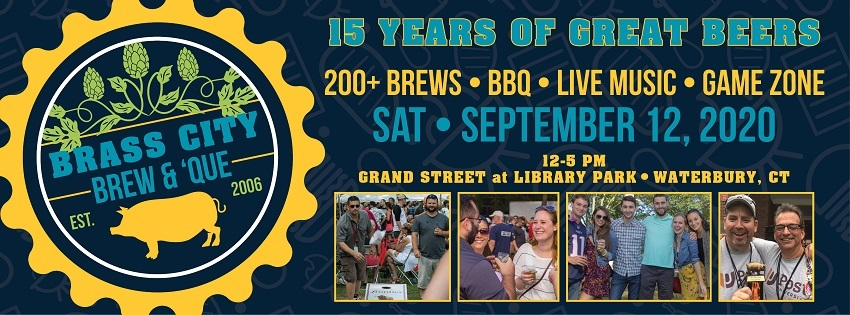 Tickets for Brass City Brew & 'Que in Waterbury from BeerFests.com