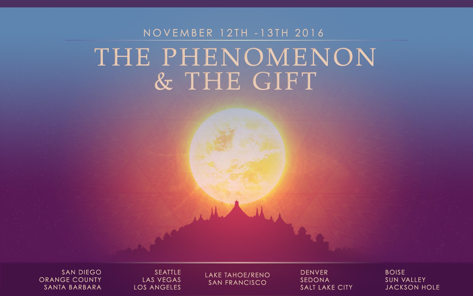 Tickets for The Phenomenon & The Gift - Los Angeles in Malibu from BrightStar Live Events