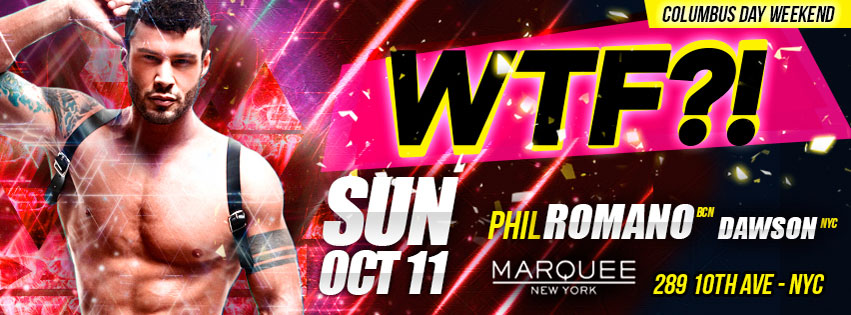 Tickets for WTF?! Columbus Day Weekend Special Event in New York from ShowClix