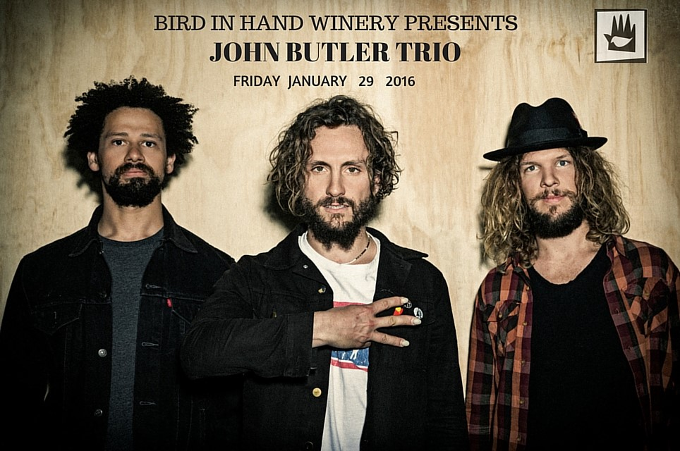 Tickets for John Butler Trio LIVE at Bird in Hand in Woodside from Ticketbooth