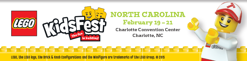 Tickets for LEGO® KidsFest NORTH CAROLINA in Charlotte from ShowClix