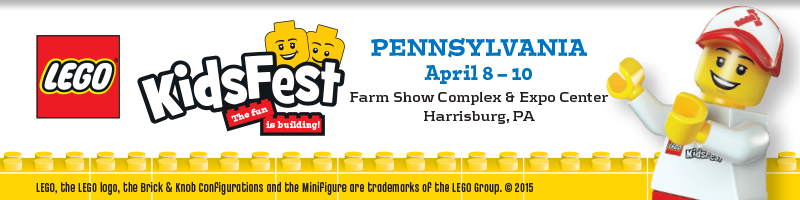 Tickets for LEGO® KidsFest PENNSYLVANIA in Harrisburg from ShowClix