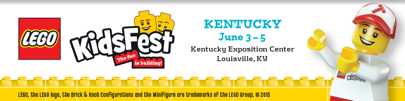 Tickets for LEGO® KidsFest KENTUCKY (SUN 2) in Louisville from ShowClix