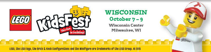 Tickets for LEGO® KidsFest WISCONSIN in Milwaukee from ShowClix