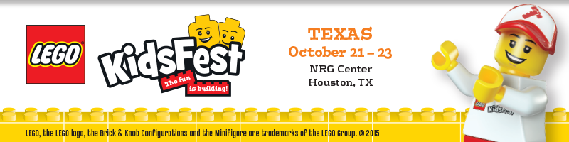 Tickets for LEGO® KidsFest TEXAS in Houston from ShowClix