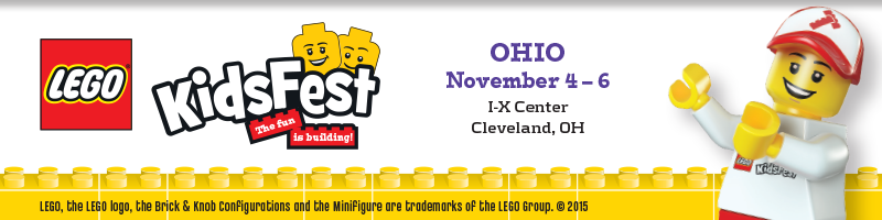 Tickets for LEGO® KidsFest OHIO in Cleveland  from ShowClix